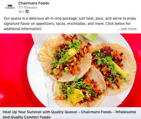 Chairmans Foods