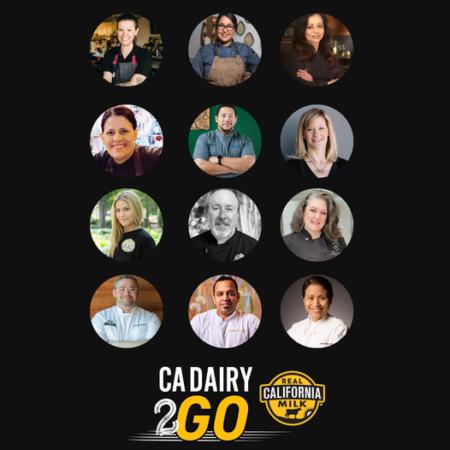 2021 CA Dairy 2GO Contestants