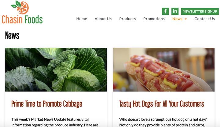 Weekly Website Blogs