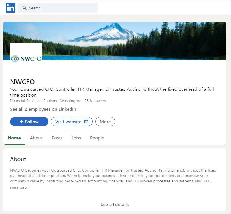 NWCFO Linkedin
